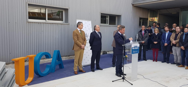 L'UCA avance dans la construction de la nouvelle bibliothèque du Campus Baie d'Algéciras