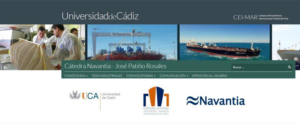 La Cátedra NAVANTIA-José Patiño Rosales de la UCA falla los premios a los mejores TFG y TFM del curso 2017/18
