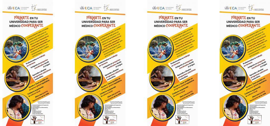 El Colegio de Médicos y la UCA organizan una muestra fotográfica para acercar la cooperación humanitaria a los estudiantes