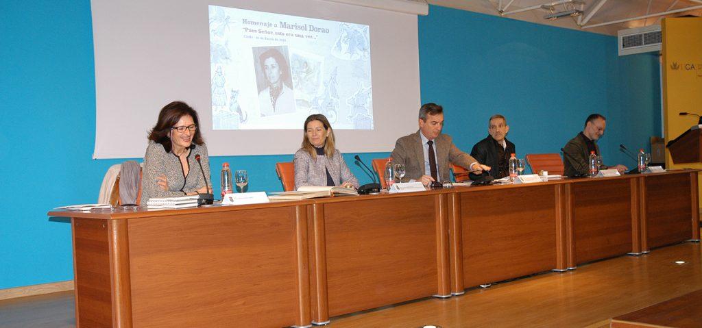 La UCA rinde homenaje a la profesora Marisol Dorao Orduña en la Facultad de Filosofía y Letras