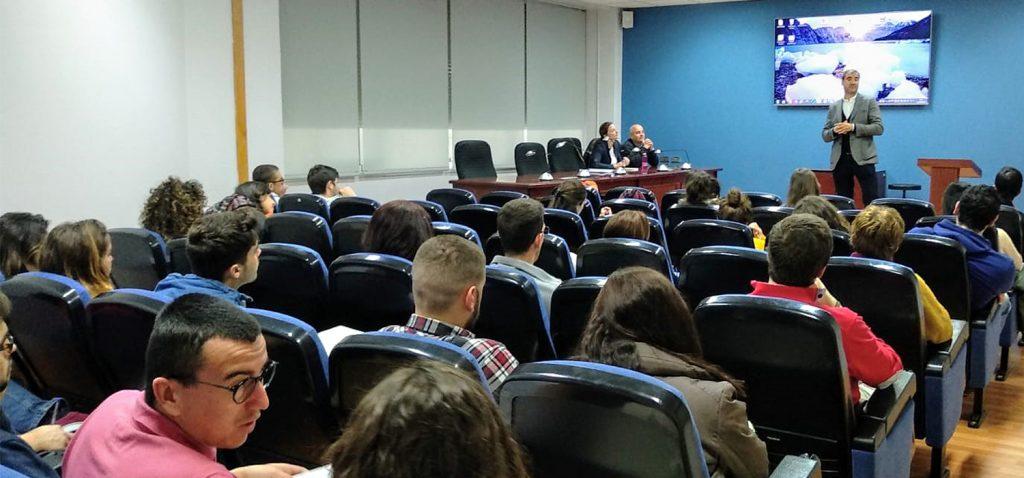 Arranca la Jornada de orientación al Empleo y Emprendimiento en la Facultad de Ciencias de Mar y Ambientales