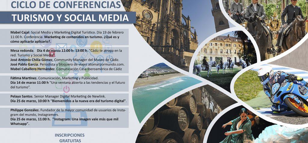UCA, APJ de Jerez y el Colegio Profesional de Periodistas de Andalucía organizan las conferencias 'Turismo y Social Media'