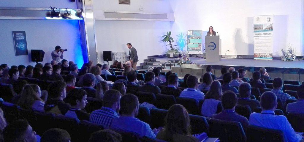 Cerca de 200 inscritos participan hoy y mañana en las VIII Jornadas de la Cátedra Acerinox de la UCA