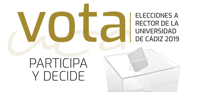 Comienza la campaña electoral de las Elecciones a Rector 2019 tras la proclamación definitiva de candidatos