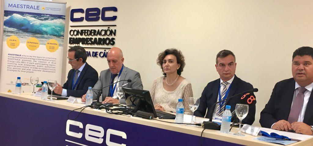 UCA y CEI·MAR participan en el 'III Blue Energy Lab' del Clúster Marítimo de Andalucía