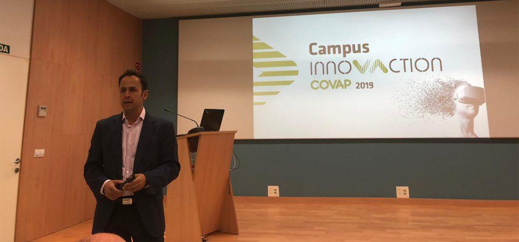 Estudiantes de la UCA conocen 'Campus Innovaction COVAP 2019'