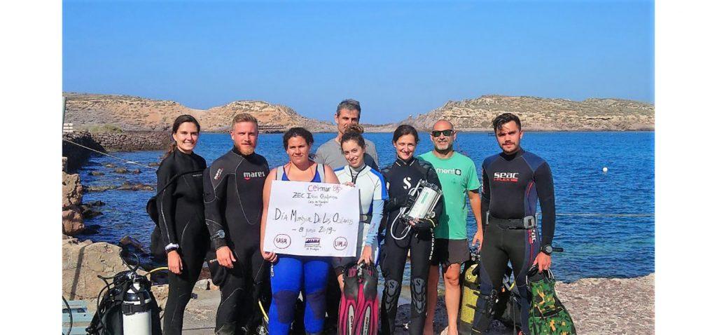 Chafarinas, campo de estudio sobre biodiversidad marina para estudiantes de doctorado CEI·Mar