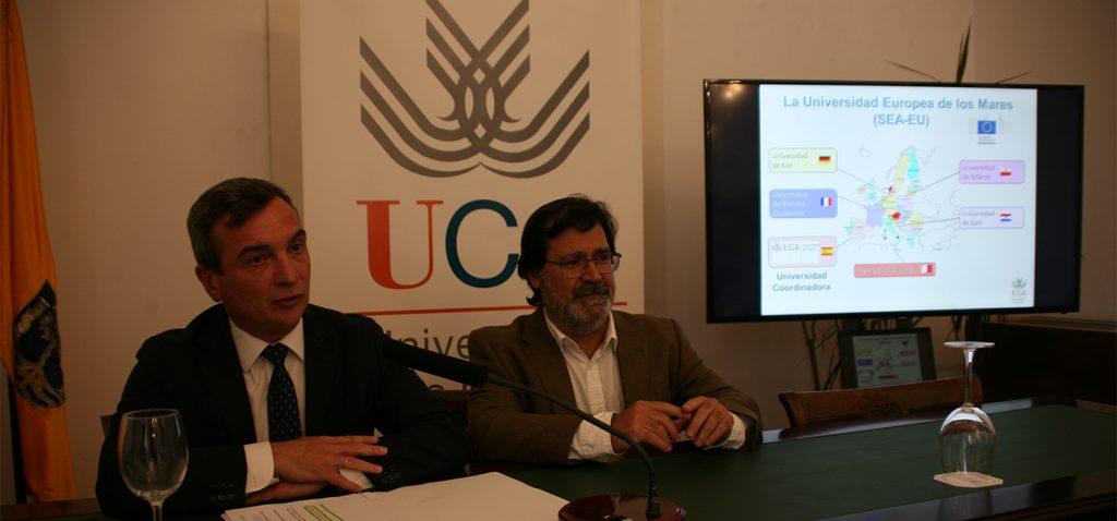 La Universidad de Cádiz, seleccionada por la UE para desarrollar el proyecto 'La Universidad Europea de los Mares (SEA-EU)'