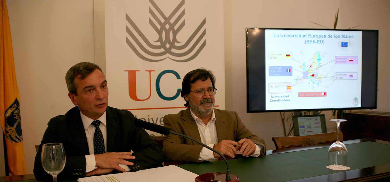 The University of Cádiz, selected by the EU to develop the 'European University of the Seas (SEA-EU)' project