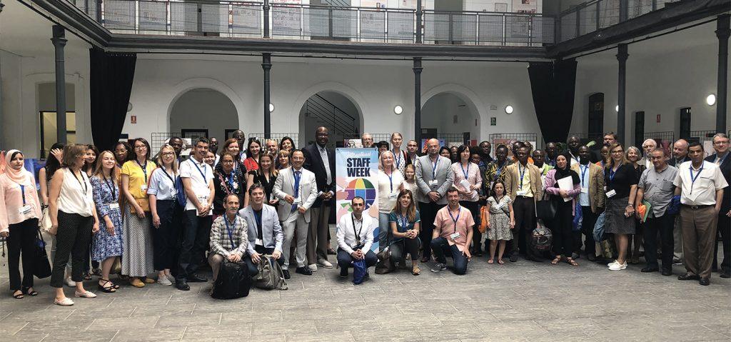 La UCA da la bienvenida en la V 'International Staff Week' a 100 personas de 21 países