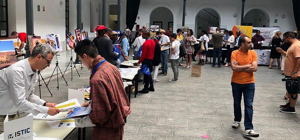 45 universidades africanas, europeas, asiáticas e iberoamericanas participan en la 'International Expo UCA'