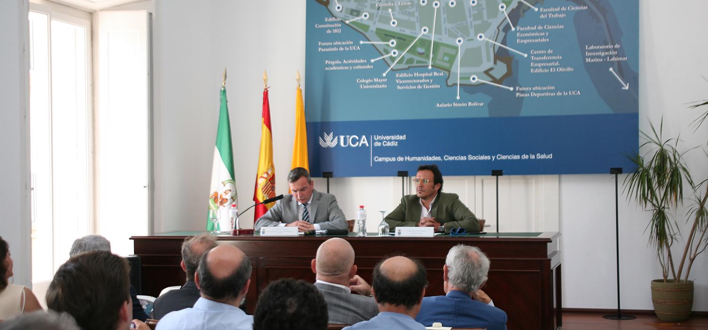 La UCA presenta la consolidación del Campus de Cádiz y los espacios expositivos del nuevo Rectorado
