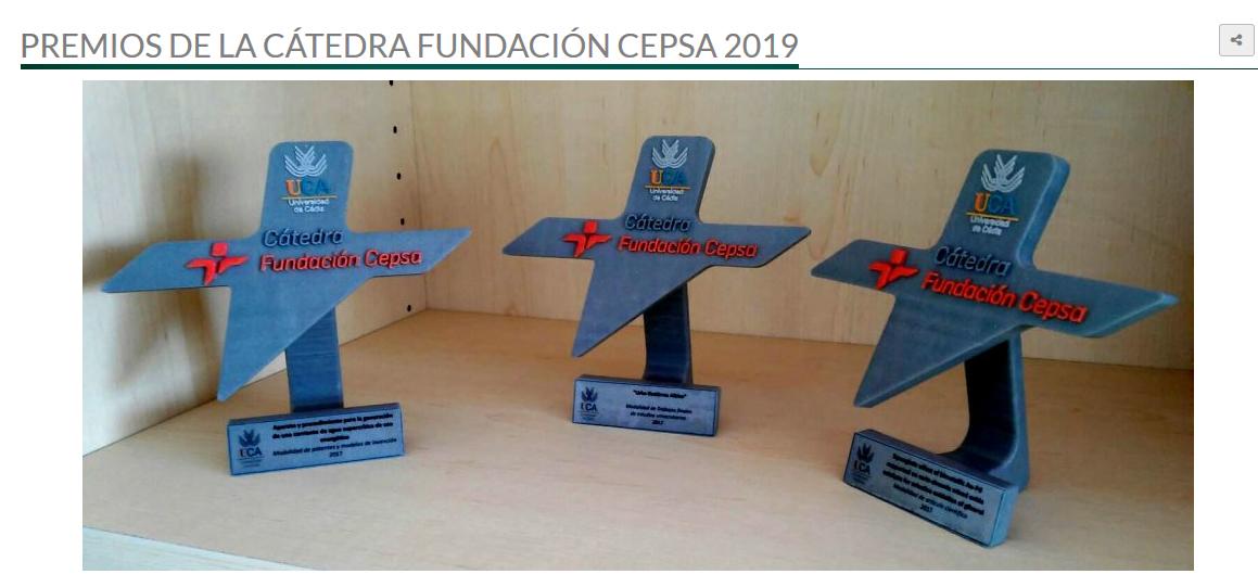 La Cátedra Fundación Cepsa de la UCA convoca los Premios 2019 a la Innovación