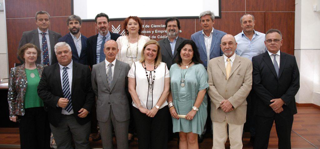 Toma de posesión de varios miembros del nuevo equipo rectoral y de cargos académicos
