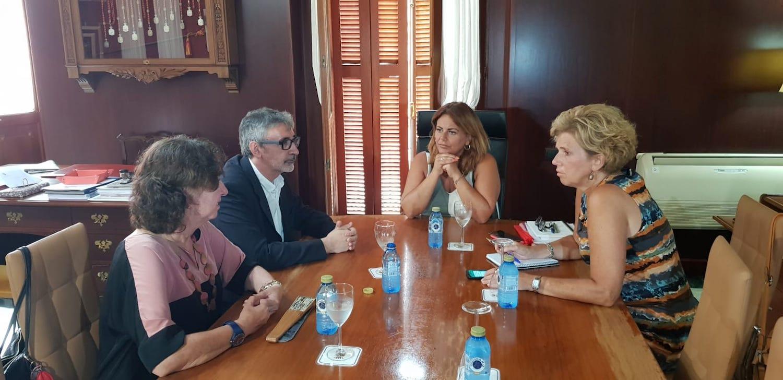 El rector de la Universidad de Cádiz se reúne con la alcaldesa de Puerto Real