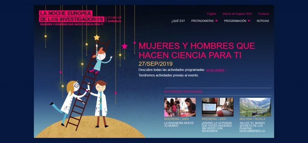 Cádiz se suma el próximo 27 de septiembre a la Noche Europea de l@s Investigador@s