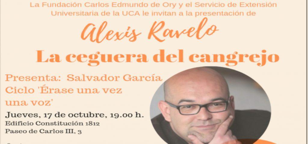 El escritor Alexis Ravelo, esta tarde en el ciclo 'Érase una vez una voz'