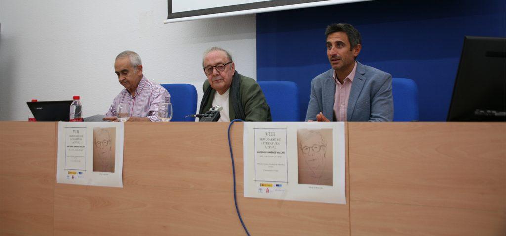 La UCA celebra el VIII Seminario de 'Literatura Actual', dedicado al poeta Antonio Jiménez Millán