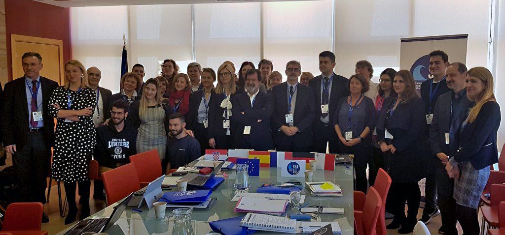 Encuentro de lanzamiento de 'La Universidad Europea de los Mares  SEA-EU' en la UCA