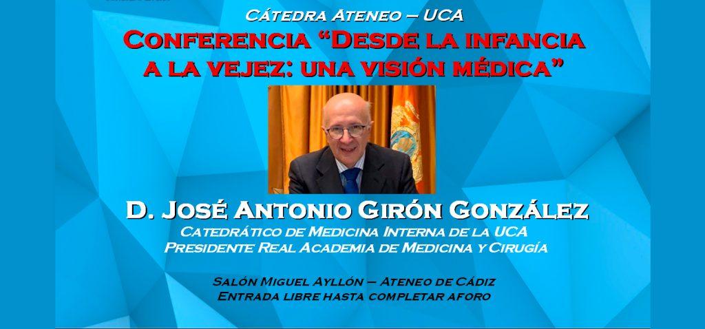 """Cátedra Ateneo-UCA """"Desde la infancia a la vejez: una visión médica"""""""