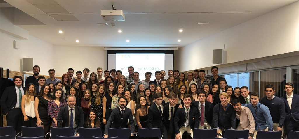 Bienvenida al curso 2019/20 en el Colegio Mayor Universitario de la UCA