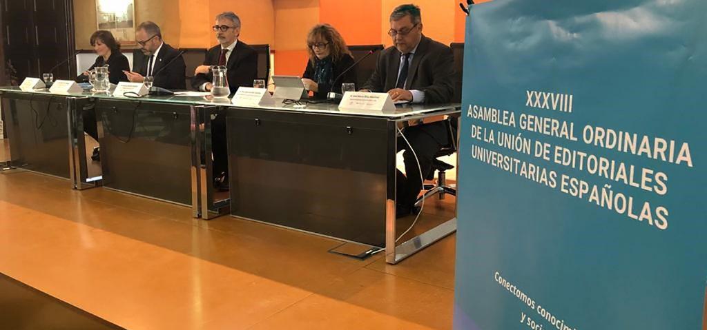 Comienza la 38º Asamblea General de los Editores Universitarios Españoles en la UCA