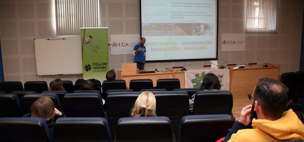 La UCA celebra una sesión sobre voluntariado ambiental en el marco del Congreso Ibérico-Español de Ornitología