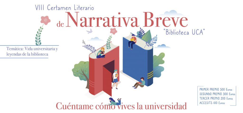 La UCA presenta el VIII Certamen de Narrativa Breve 'BibliotecaUCA'