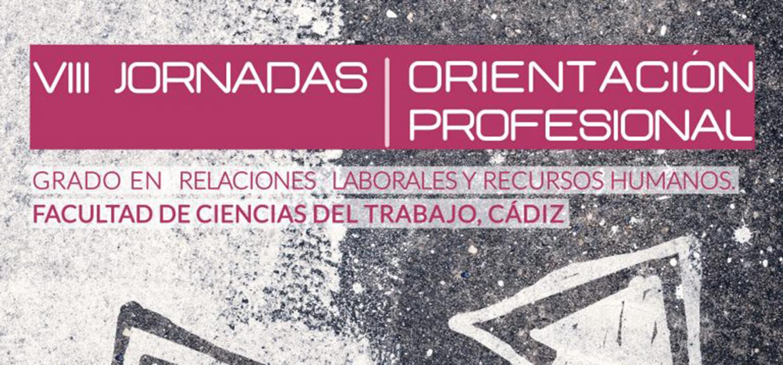Cartel Orientación Profesional Cádiz
