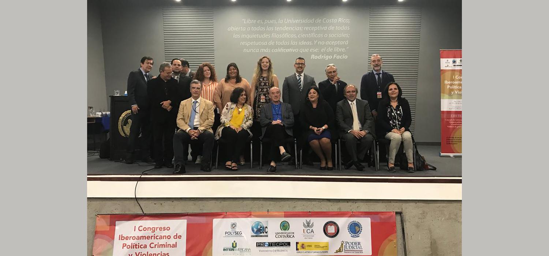 Costa Rica acoge el I Congreso Iberoamericano de Política Criminal y Violencias, impulsado por la UCA