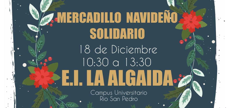 Mercadillo navideño solidario