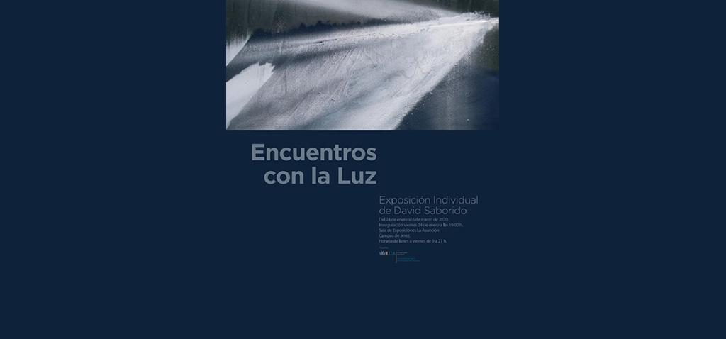 El Campus de Jerez inaugura la exposición 'Encuentros con la Luz' de David Saborido
