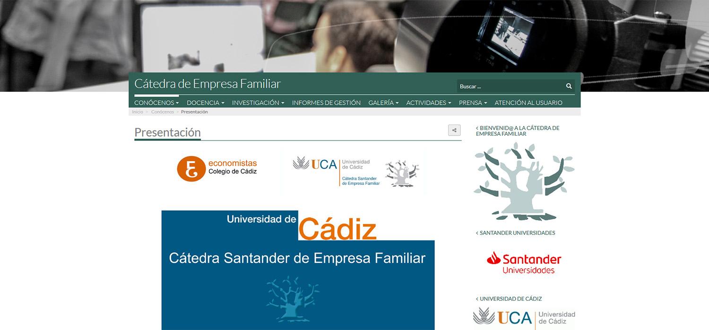 Cádiz acoge el VIII Encuentro anual de las cátedras de Empresa Familiar de Andalucía