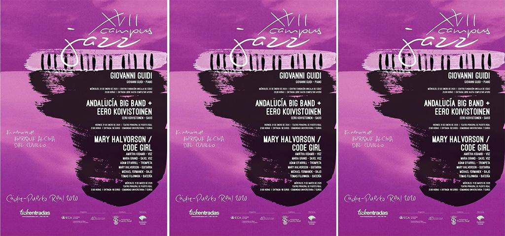 El concierto de Giovanni Guidi inaugurará el 17º Campus Jazz UCA, dedicado in memoriam a Enrique Alcina del Cuvillo