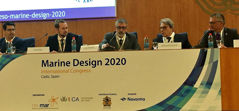 Comienza en Cádiz el congreso internacional 'Marine Design 2020', celebrado por primera vez en España