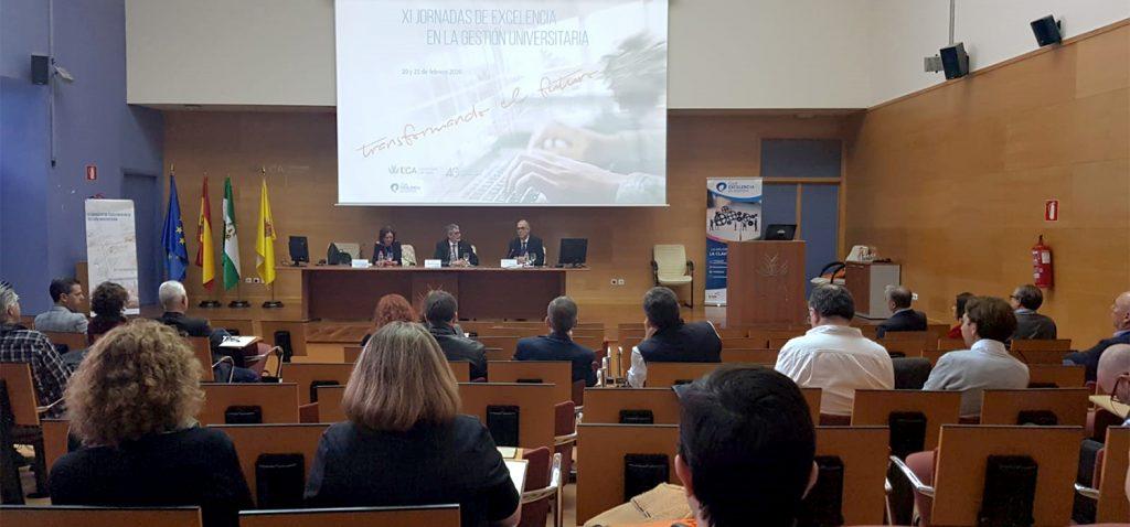 Más de un centenar de personas asisten a las XI Jornadas de Excelencia en la Gestión Universitaria en Jerez