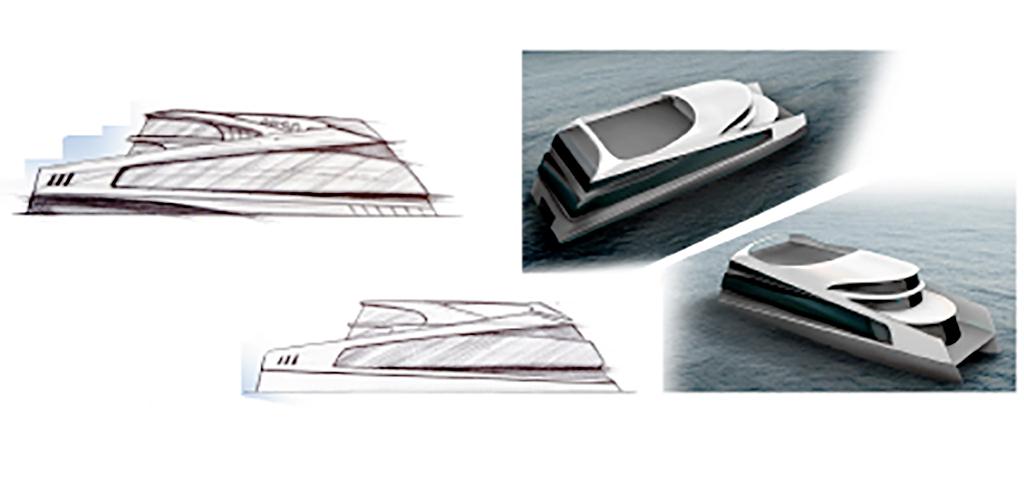 'ESPOmar' presenta el novedoso diseño de un sistema de transporte marítimo sostenible para el Golfo de Cádiz