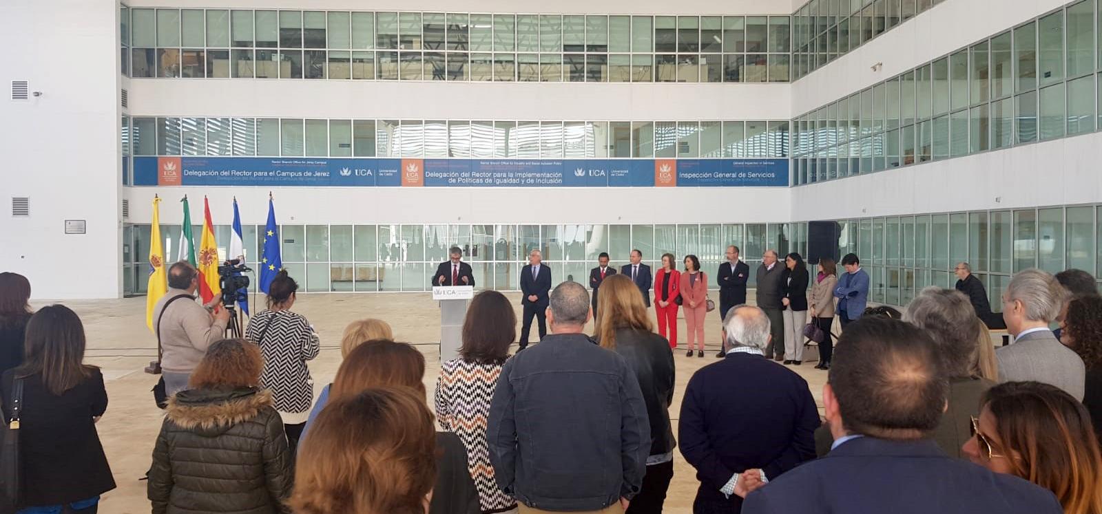 La UCA inaugura nuevos espacios en el Campus de Jerez