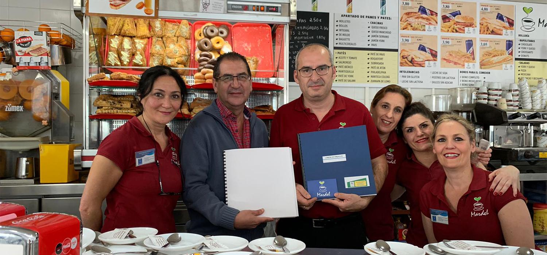 Los menús en braille ya están disponibles en las cafeterías de la UCA