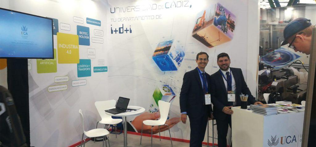 La Universidad de Cádiz muestra sus capacidades científico – técnicas en Transfiere 2020