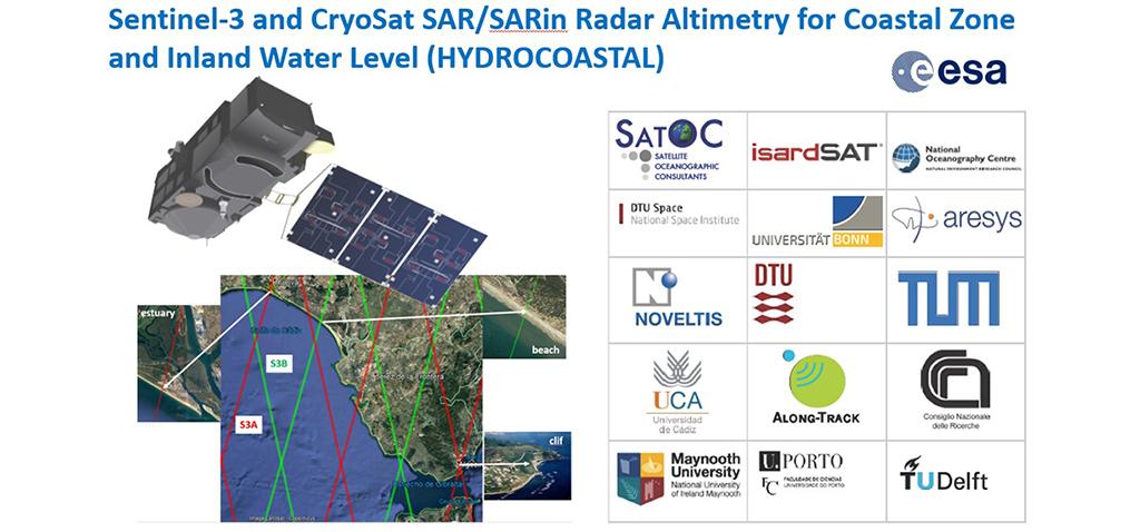 La UCA participa en el proyecto 'HYDROCOASTAL' de la Agencia Espacial Europea