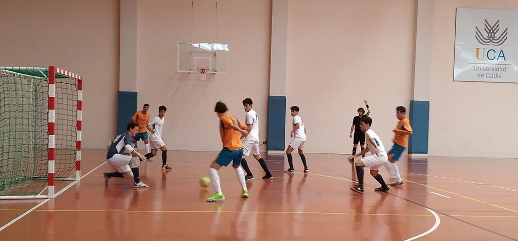 El equipo de fútbol sala masculino, clasificado para la fase final del CAU 2020