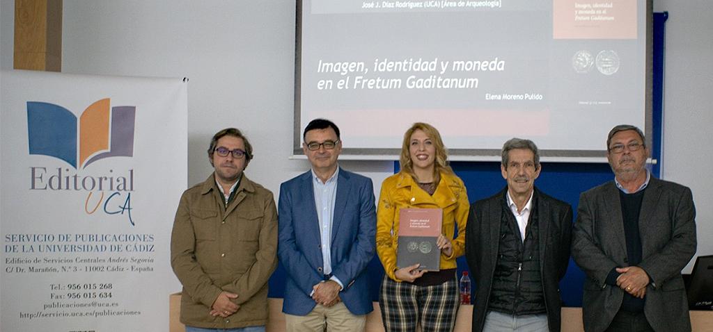 El sello Editorial UCA publica el libro 'Imagen, identidad y moneda en el Fretum Gaditanum'
