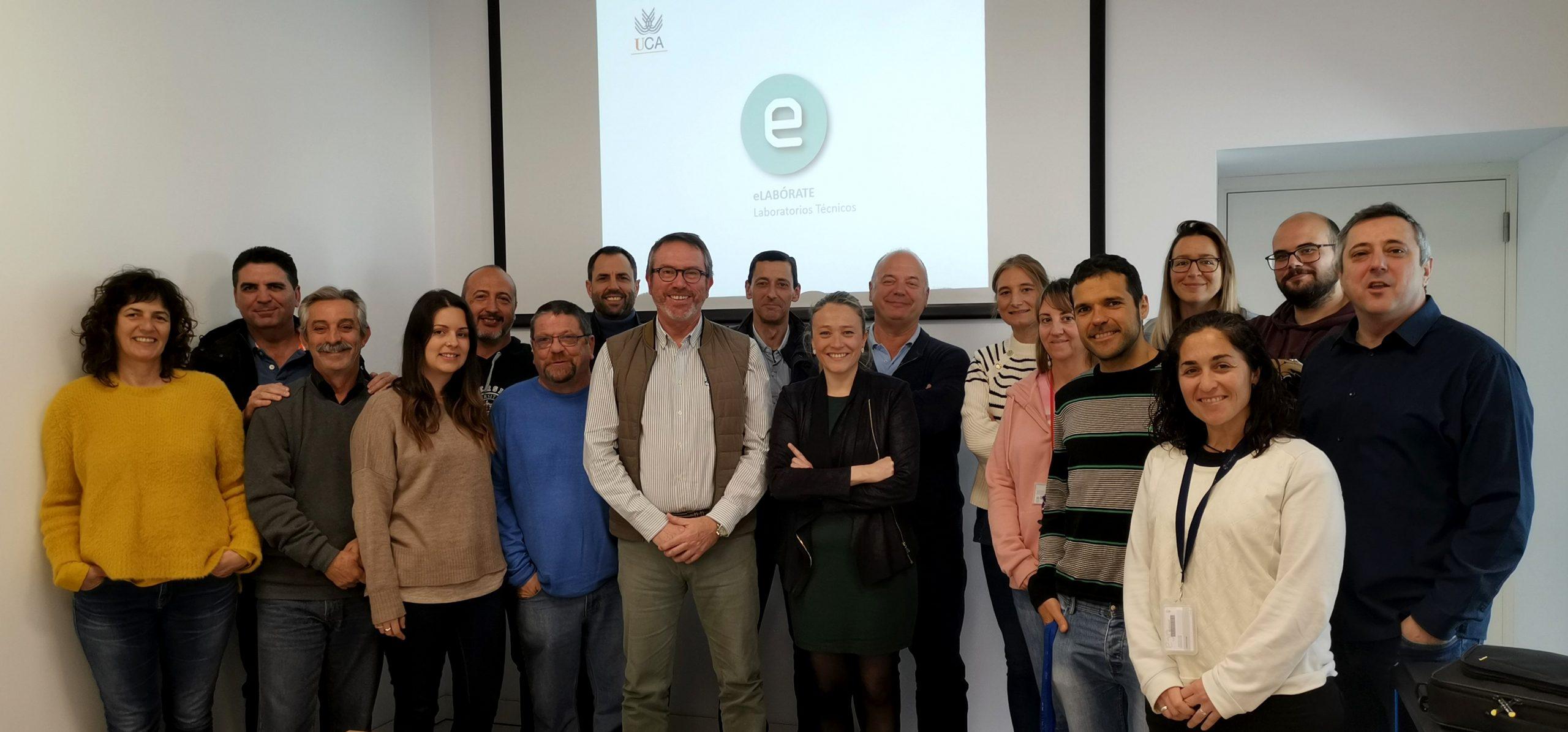 Reunión de Gerencia de la UCA con el grupo 'eLABÓRATE'