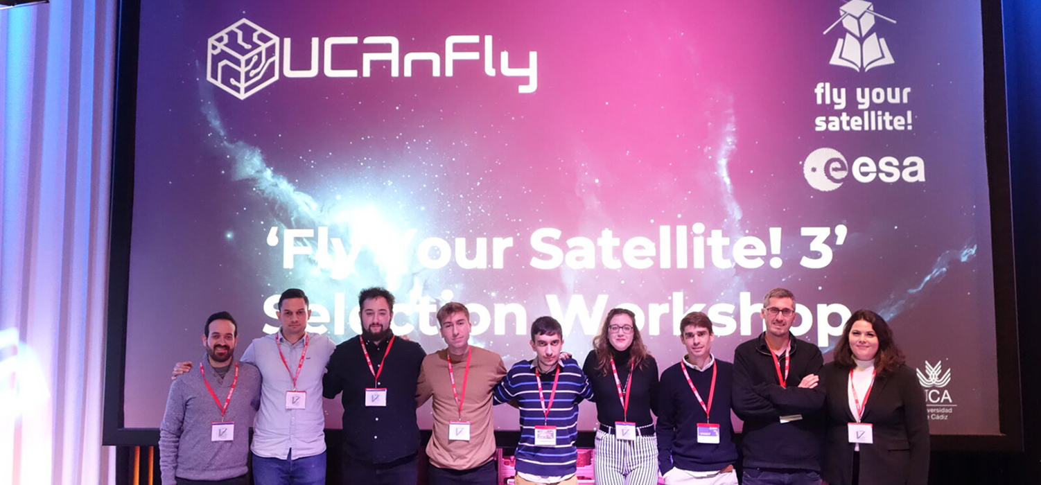 El nanosatélite 'UCAnFly', seleccionado en el programa 'Fly Your Satellite!' de la Agencia Espacial Europea