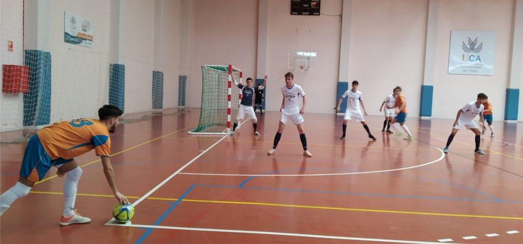 La UCA participa en las fases finales de los Campeonatos de Andalucía Universitarios de Pádel y Fútbol Sala