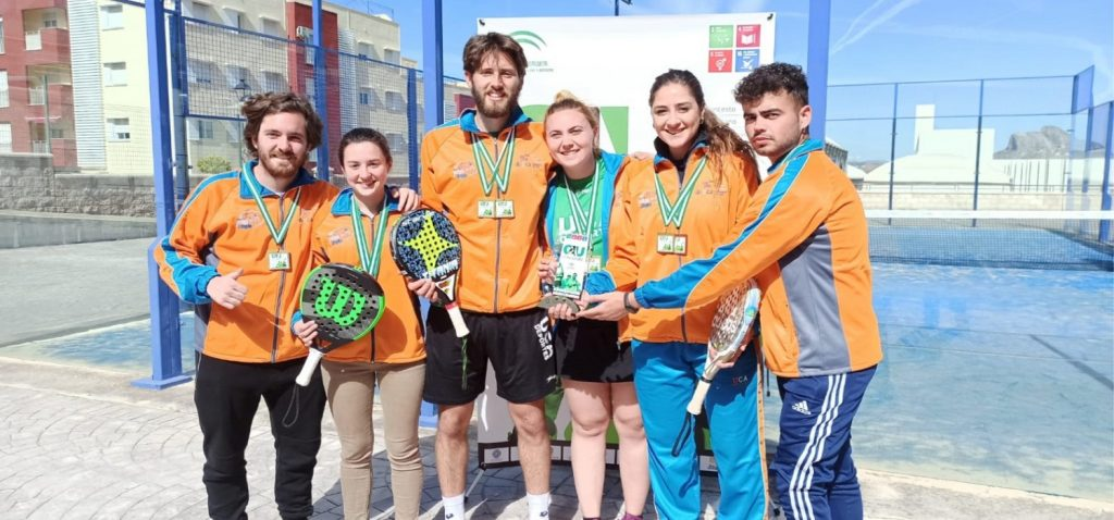 La UCA logra dos medallas de oro en Pádel y dos bronces en Pádel y Fútbol Sala durante los CAU 2020