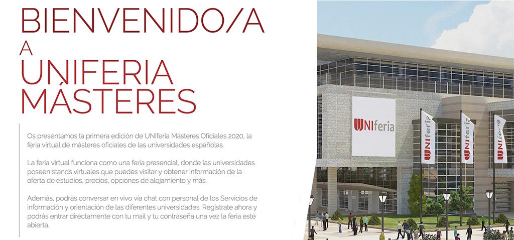 Crue Universidades Españolas pone en marcha la primera feria virtual sobre másteres oficiales