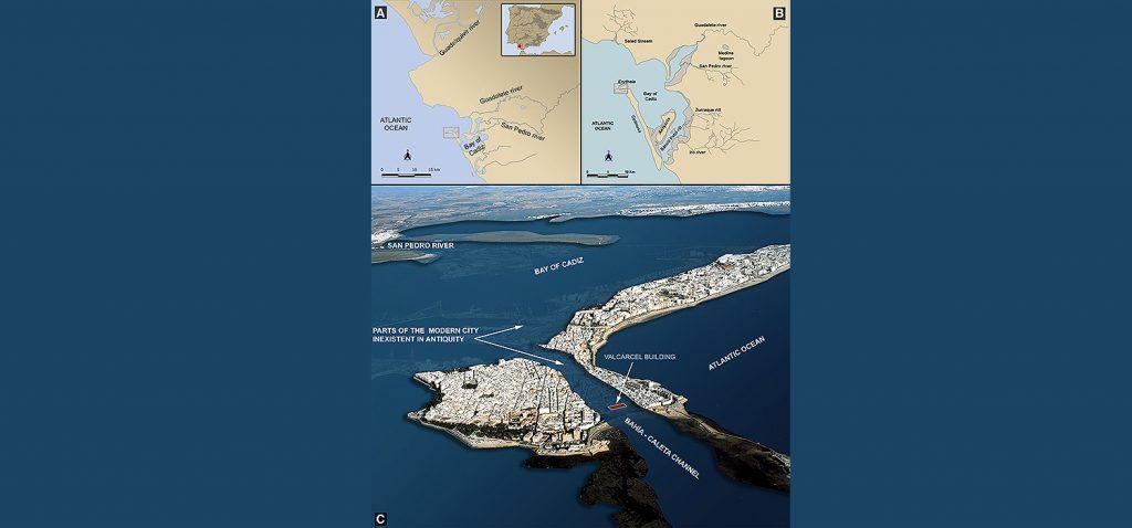 Investigadores de la UCA revelan la existencia de un puerto fenicio-púnico y romano situado en el antiguo archipiélago de Cádiz