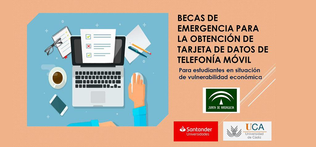 Convocatoria de becas de emergencia para la obtención de datos de telefonía móvil